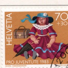 Sellos: SUIZA , 1983 , MICHEL 1262. Lote 276614238