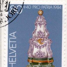 Sellos: SUIZA , 1984 , MICHEL 1275. Lote 276615863