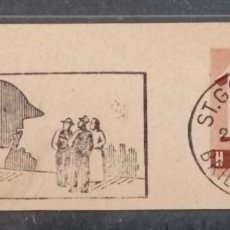 Sellos: 1943. SUIZA. FRAGMENTO POSTAL ,ST. GALLEN. *.MH. Lote 276785618