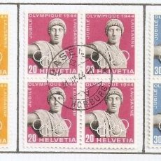 Sellos: SUIZA.1944. YT 392/394. Lote 278559198