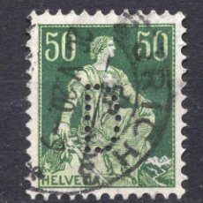 Timbres: SUIZA 1908 , STAMP ,, MICHEL 107X. Lote 283736033