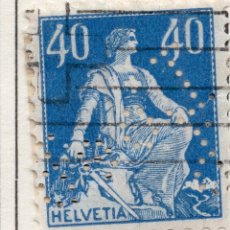 Timbres: SUIZA 1922 , STAMP ,, MICHEL 170XB. Lote 283736993