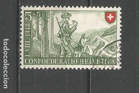 SUIZA YVERT NUM. 457 USADO (Sellos - Extranjero - Europa - Suiza)