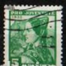 Sellos: SUIZA EDIFIL Nº 282 (AÑO 1935), CHICA JOVEN DE BAL, USADO. Lote 288185128