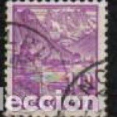 Sellos: SUIZA EDIFIL Nº 273 (AÑO 1934), CASTILLO DE CHILLON Y PICOS DEL MIDI, USADO. Lote 288201438