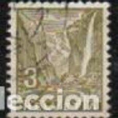 Sellos: SUIZA EDIFIL Nº 271 (AÑO 1934), CASCADA DE STAUBBACH EN LAUTERBRUNNER, USADO. Lote 288201968