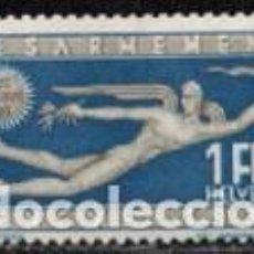 Sellos: SUIZA EDIFIL Nº 259 (AÑO 1932), CONFERENCIA MUNDIAL SOBRE EL DESARME EN GINEBRA, NUEVO SEÑAL CHARNEL. Lote 288203068