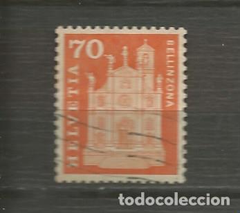 SUIZA. IVERT 653. AÑO 1960-1963. HISTORIA DEL CORREO Y MONUMENTOS. USADO. (Sellos - Extranjero - Europa - Suiza)