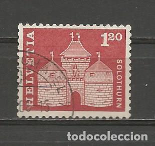 SUIZA. IVERT 658. AÑO 1960-1963. HISTORIA DEL CORREO Y MONUMENTOS. USADO. (Sellos - Extranjero - Europa - Suiza)