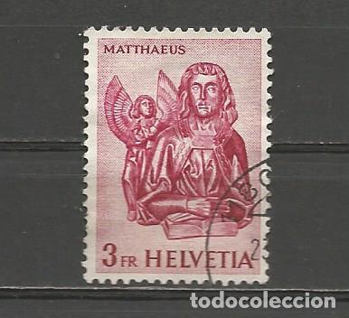 SUIZA. IVERT 660C. AÑO 1960-1963. HISTORIA DEL CORREO Y MONUMENTOS. USADO. (Sellos - Extranjero - Europa - Suiza)
