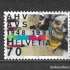 Sellos: SUIZA 1998 SELLO USADO - 5/11. Lote 297069648