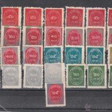 Sellos: .LOTE TAILANDIA DE 29 SELLOS SERVICIO CON VARIEDADES IMPRESION, DIVERSAS CALIDADES,. Lote 42087989