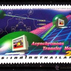 Sellos: TAILANDIA 1806** - AÑO 1998 - MODELO DE TRANSFERENCIA ASINCRONICA. Lote 42163696