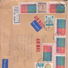 Sellos: SOBRE: 1985 TAILANDIA. CANADA. Lote 54807033
