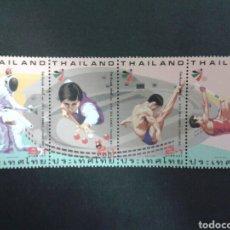 Sellos: SELLOS DE TAILANDIA. DEPORTES. YVERT 1646/9. SERIE COMPLETA NUEVA SIN CHARNELA.. Lote 63452559