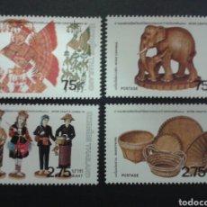 Francobolli: SELLOS DE TAILANDIA. ARTESANÍA. YVERT 942/5. SERIE COMPLETA NUEVA SIN CHARNELA.. Lote 63688745
