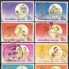 Sellos: TAILANDIA 1987 - USADO. Lote 98471799