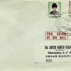 Sellos: TAILANDIA SCOTT: 1244-46-(1989) (MATASELLOS ESPECIAL) EXP. FCA. MUNDIAL BANGKOK-1993. Lote 98702707