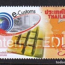 Sellos: TAILANDIA 2004 SELLO DE CORREOS ELECTRÓNICOS. Lote 141227538
