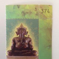 Sellos: SELLO NUEVO DE TAILANDIA CON RELIEVE 2009- DIOSES (GANESA) # 1. Lote 145341378