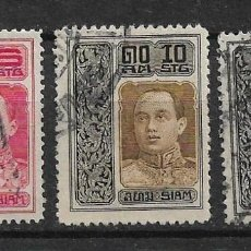 Sellos: TAILANDIA 1912 USED - 8/22. Lote 146934774
