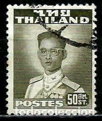 TAILANDIA SCOTT: 287-(1957) (EL REY BHUMIBOL ADULYADEJ) USADO (Sellos - Extranjero - Asia - Tailandia)
