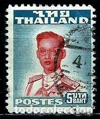 TAILANDIA SCOTT: 293-(1955) (EL REY BHUMIBOL ADULYADEJ) USADO (Sellos - Extranjero - Asia - Tailandia)