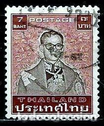 TAILANDIA SCOTT: 1086-(1984) (EL REY BHUMIBOL ADULYADEJ) USADO (Sellos - Extranjero - Asia - Tailandia)