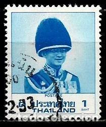 TAILANDIA SCOTT: 1230-(1988) (EL REY BHUMIBOL ADULYADEJ) USADO (Sellos - Extranjero - Asia - Tailandia)