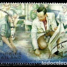 Sellos: TAILANDIA SCOTT: 1913-(1999) (EL REY BHUMIBOL ADULYADEJ EN TRAJE BLANCO CON CAMARA) USADO. Lote 149742130