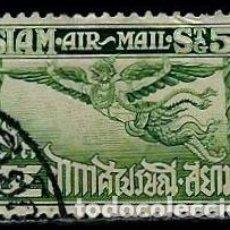 Sellos: TAILANDIA SCOTT: C3-(1925) (AEREO) (ALAS DE GARUDA) USADO. Lote 149743142