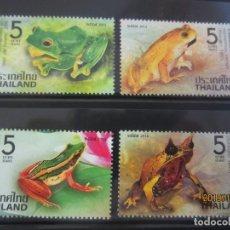Sellos: TAILANDIA 2014 - 4 V. NUEVO. Lote 178323571