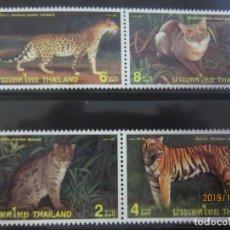 Sellos: TAILANDIA 1998 - 4 V. NUEVO. Lote 178323817