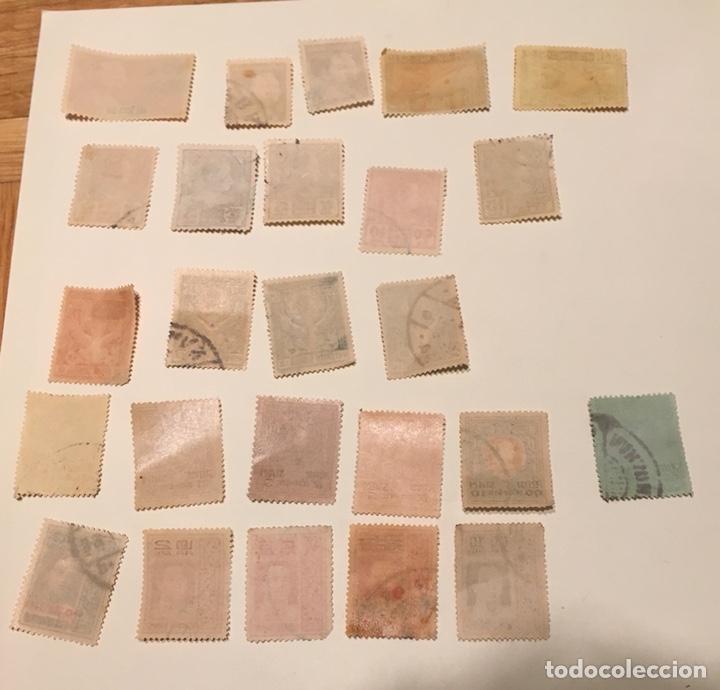 Sellos: 25 sellos antiguos de Siam - Foto 2 - 182952271