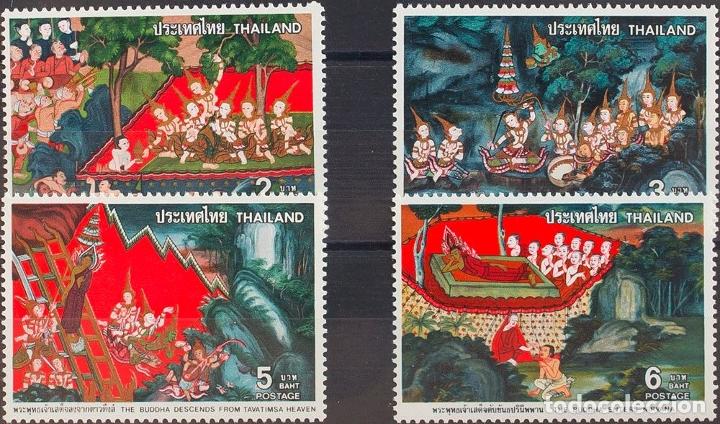 TAILANDIA. MNH **YV 850/53. 1978. SERIE COMPLETA. MAGNIFICA. YVERT 2010: 16 EUROS. REF: 57510 (Sellos - Extranjero - Asia - Tailandia)