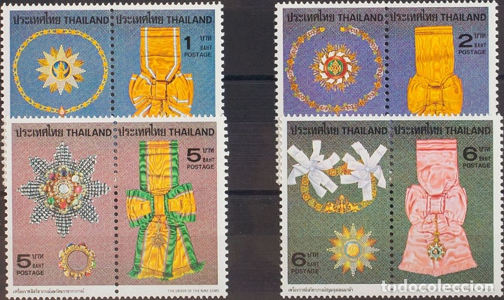 TAILANDIA. MNH **YV 899/06. 1979. SERIE COMPLETA. MAGNIFICA. YVERT 2010: 15 EUROS. REF: 57512 (Sellos - Extranjero - Asia - Tailandia)