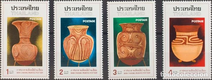 TAILANDIA. MNH **YV 784/86. 1976. SERIE COMPLETA. MAGNIFICA. YVERT 2010: 16 EUROS. REF: 57506 (Sellos - Extranjero - Asia - Tailandia)