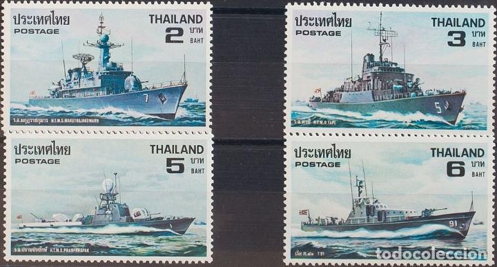 TAILANDIA. MNH **YV 893/96. 1979. SERIE COMPLETA. MAGNIFICA. YVERT 2010: 16 EUROS. REF: 57511 (Sellos - Extranjero - Asia - Tailandia)