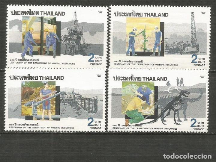 TAILANDIA YVERT NUM. 1436/1439 ** SERIE COMPLETA SIN FIJASELLOS (Sellos - Extranjero - Asia - Tailandia)