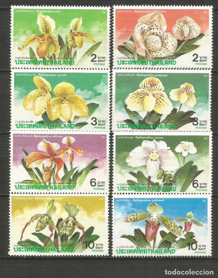 TAILANDIA YVERT NUM. 1442/1449 ** SERIE COMPLETA SIN FIJASELLOS (Sellos - Extranjero - Asia - Tailandia)