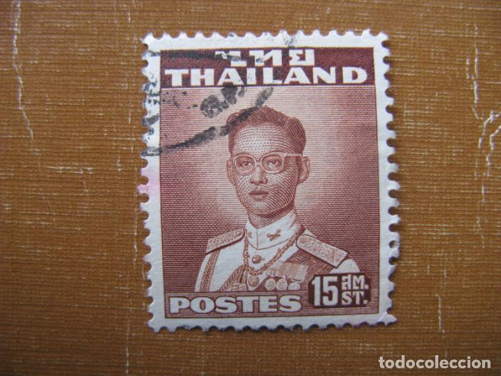 -TAILANDIA 1951, RAMA IX, YVERT 274 (Sellos - Extranjero - Asia - Tailandia)