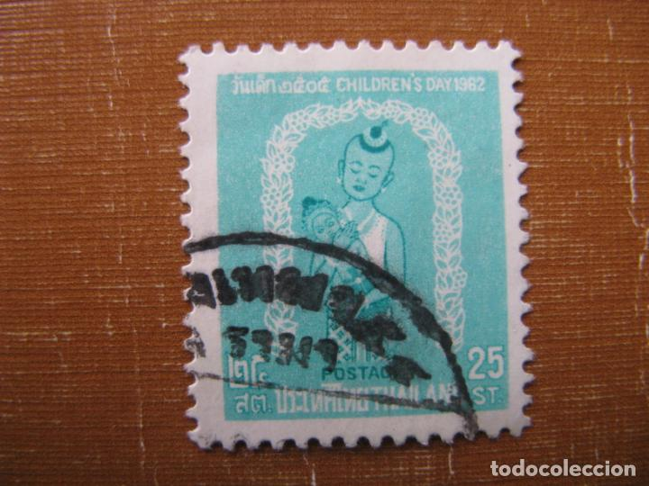 -TAILANDIA 1962, DIA DE LA INFANCIA, YVERT 368 (Sellos - Extranjero - Asia - Tailandia)