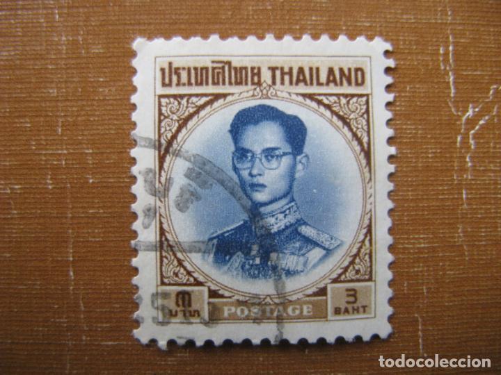 -TAILANDIA 1963, RAMA IX, YVERT 395 (Sellos - Extranjero - Asia - Tailandia)