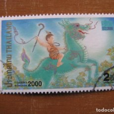 Sellos: -TAILANDIA 2000, SELLO USADO. Lote 191147523