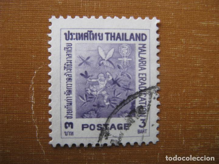 -TAILANDIA, ERRADICACIÓN DE LA MALARIA (Sellos - Extranjero - Asia - Tailandia)