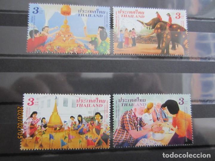 TAILANDIA 2015 4 V. NUEVO (Sellos - Extranjero - Asia - Tailandia)