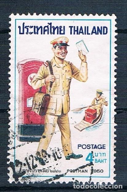 TAILLANDIA 1976 SELLO USADO MICHEL 815 YVES 790 (Sellos - Extranjero - Asia - Tailandia)