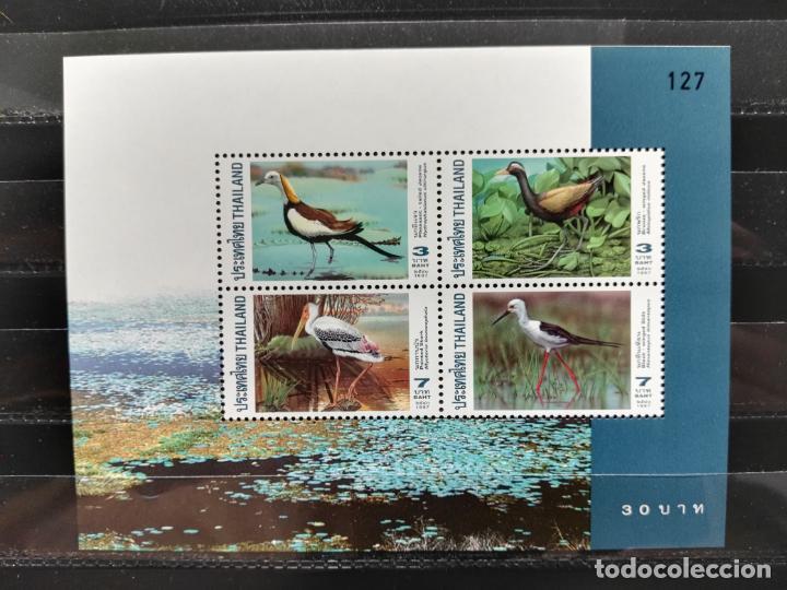 TAILANDIA. HB. 102A. FAUNA. AVES. NUEVA. (Sellos - Extranjero - Asia - Tailandia)