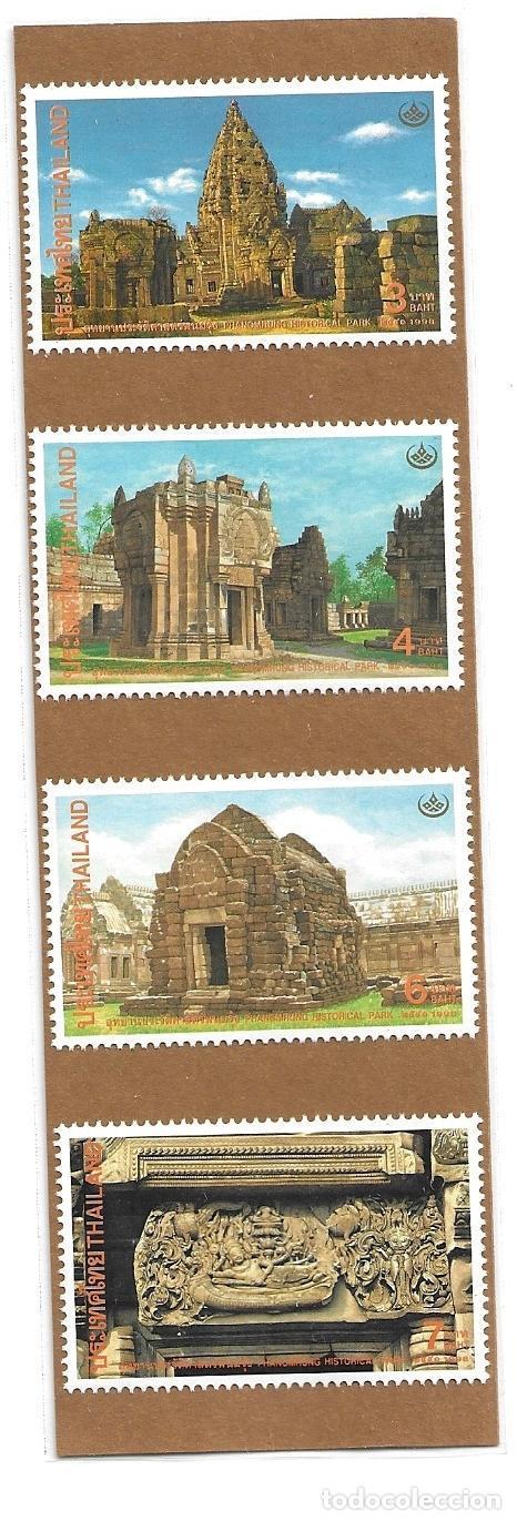 1998-TAILANDIA. DÍA DE LA CONSERVACIÓN DEL PATRIMONIO 1998 - PARQUE HISTÓRICO PHANOMRUNG (Sellos - Extranjero - Asia - Tailandia)