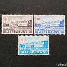 Sellos: SELLOS DE FILIPINAS 1962, IMPUESTO PARA LA SOCIEDAD FILIPINA DE TUBERCULOSIS. Lote 213809335